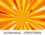 comics background. pop art or... | Shutterstock .eps vector #1909159006