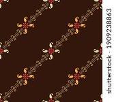 seamless small paisley... | Shutterstock .eps vector #1909238863