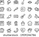 food line icon set   pizza roll ... | Shutterstock .eps vector #1909246786
