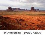 Rock Formations  Merrick Butte  ...