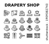 drapery shop sale collection... | Shutterstock .eps vector #1909382743
