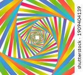 abstract illusion rainbow...   Shutterstock .eps vector #1909404139