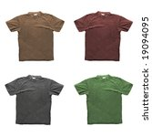 Four T Shirts In Different...