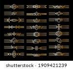 set of borders dividers.... | Shutterstock . vector #1909421239