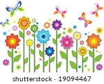 vector flowers | Shutterstock .eps vector #19094467