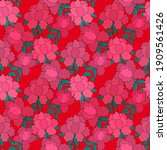 creative seamless pattern with... | Shutterstock .eps vector #1909561426