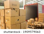 Unloading Carton From Container ...