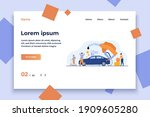 high price for car fuel concept....   Shutterstock .eps vector #1909605280