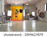Interior Of Modern Photo Studio ...
