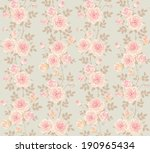 seamless background with... | Shutterstock .eps vector #190965434