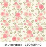 seamless background with... | Shutterstock .eps vector #190965440