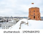 Gediminas Tower Or Castle  The...