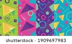 vector illustration love...   Shutterstock .eps vector #1909697983