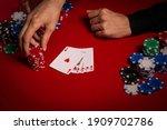 Casino. Poker. Hands Of A...