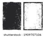 vector grunge frame.grunge... | Shutterstock .eps vector #1909707106