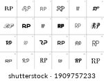 24 logo options with the...   Shutterstock .eps vector #1909757233