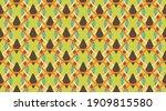 seamless pattern geometric. ... | Shutterstock .eps vector #1909815580