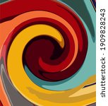 background abstract backdrop... | Shutterstock .eps vector #1909828243