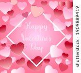 design a happy valentine's day...   Shutterstock .eps vector #1909889419