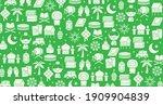 hari raya aidilfitri background ...   Shutterstock .eps vector #1909904839
