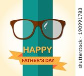 father    s day card with...   Shutterstock .eps vector #190991783