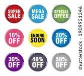 super sale mega sale special... | Shutterstock .eps vector #1909921246