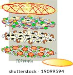 vector template to create a... | Shutterstock .eps vector #19099594