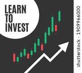 learn to invest  stock market...   Shutterstock .eps vector #1909966000