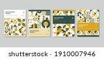 minimal geometric pattern... | Shutterstock .eps vector #1910007946