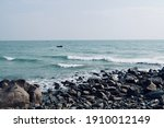 Coastline Of Mahabalipuram...