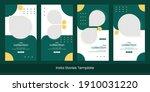 set of editable minimal square...   Shutterstock .eps vector #1910031220