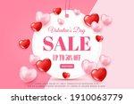 happy valentine's day concept... | Shutterstock .eps vector #1910063779
