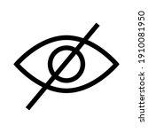 black sensitive content on...   Shutterstock .eps vector #1910081950