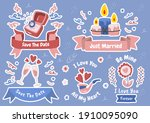 valentine illustration vector... | Shutterstock .eps vector #1910095090