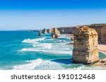 The Twelve Apostles With Blue...