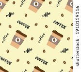 vector seamless pattern with... | Shutterstock .eps vector #1910159116