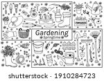 Set  Hand Drawn Vector Isolated ...