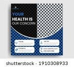 medical social media post...   Shutterstock .eps vector #1910308933