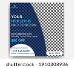 medical social media post...   Shutterstock .eps vector #1910308936
