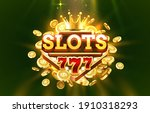 slots 777 label frame  golden... | Shutterstock .eps vector #1910318293