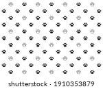 black and white animal...   Shutterstock .eps vector #1910353879