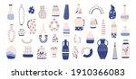 chinese porcelain vase. antique ...   Shutterstock . vector #1910366083