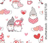 draw seamless pattern... | Shutterstock .eps vector #1910372710