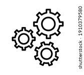 configuration  settings  gear...   Shutterstock .eps vector #1910379580
