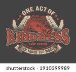 carp rescue vector design for...   Shutterstock .eps vector #1910399989