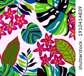 Creative Seamless Pattern With...