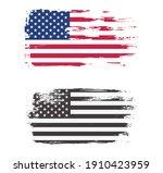 flag of united states in grunge ... | Shutterstock .eps vector #1910423959