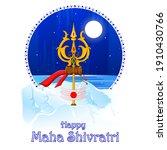 vector design of maha shivratri ...   Shutterstock .eps vector #1910430766