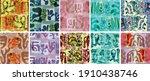 vector seamless pattern set.... | Shutterstock .eps vector #1910438746