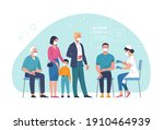 general vaccination against... | Shutterstock .eps vector #1910464939